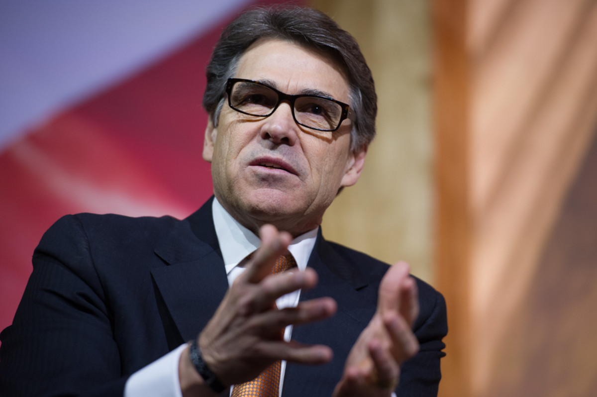 Rick Perry speaks at the Conservative Political Action Conference in National Harbor, Maryland, on March 7, 2014. (Photo: Christopher Halloran/Shutterstock)