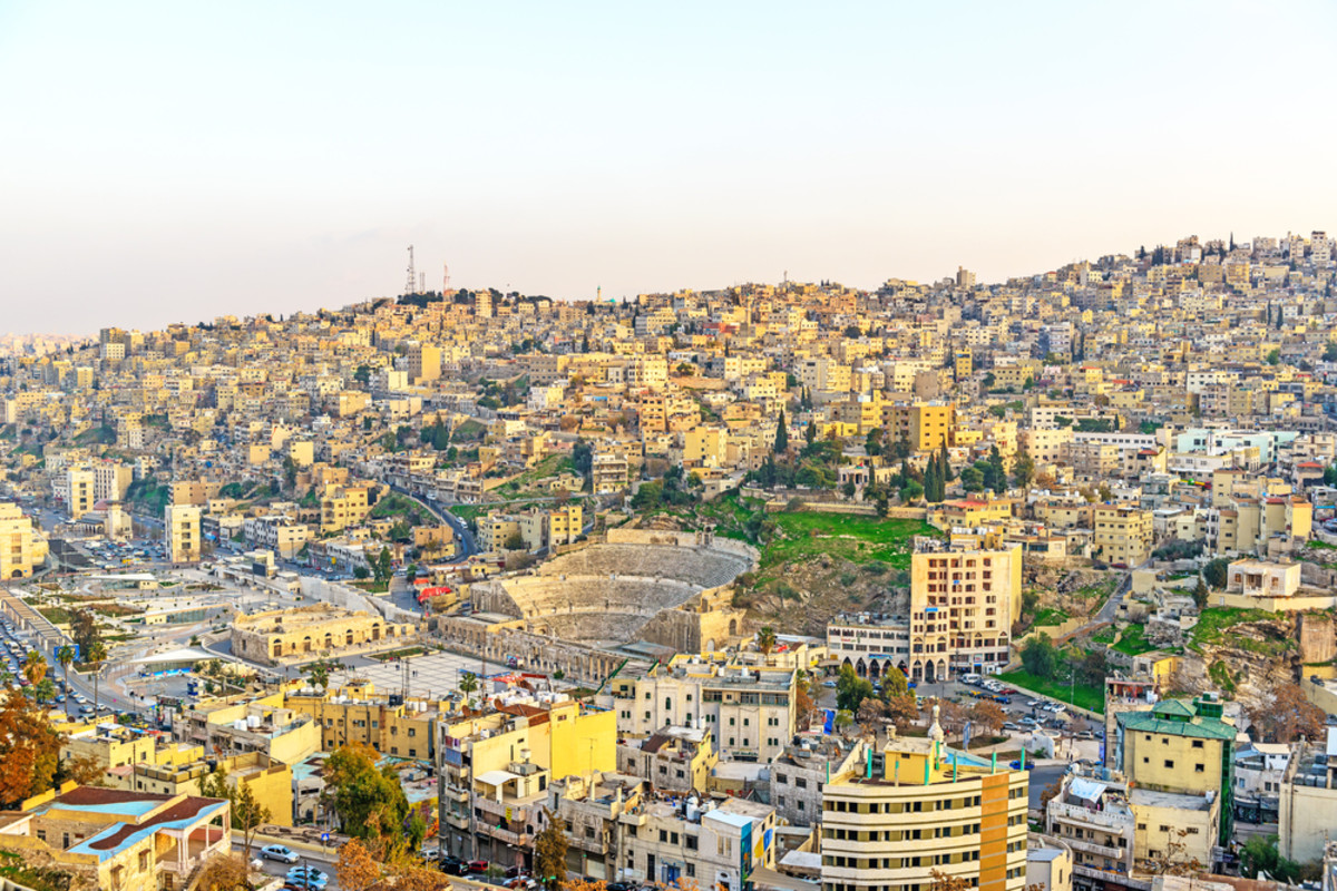 Amman, Jordan. (Photo: JPRichard/Shutterstock)