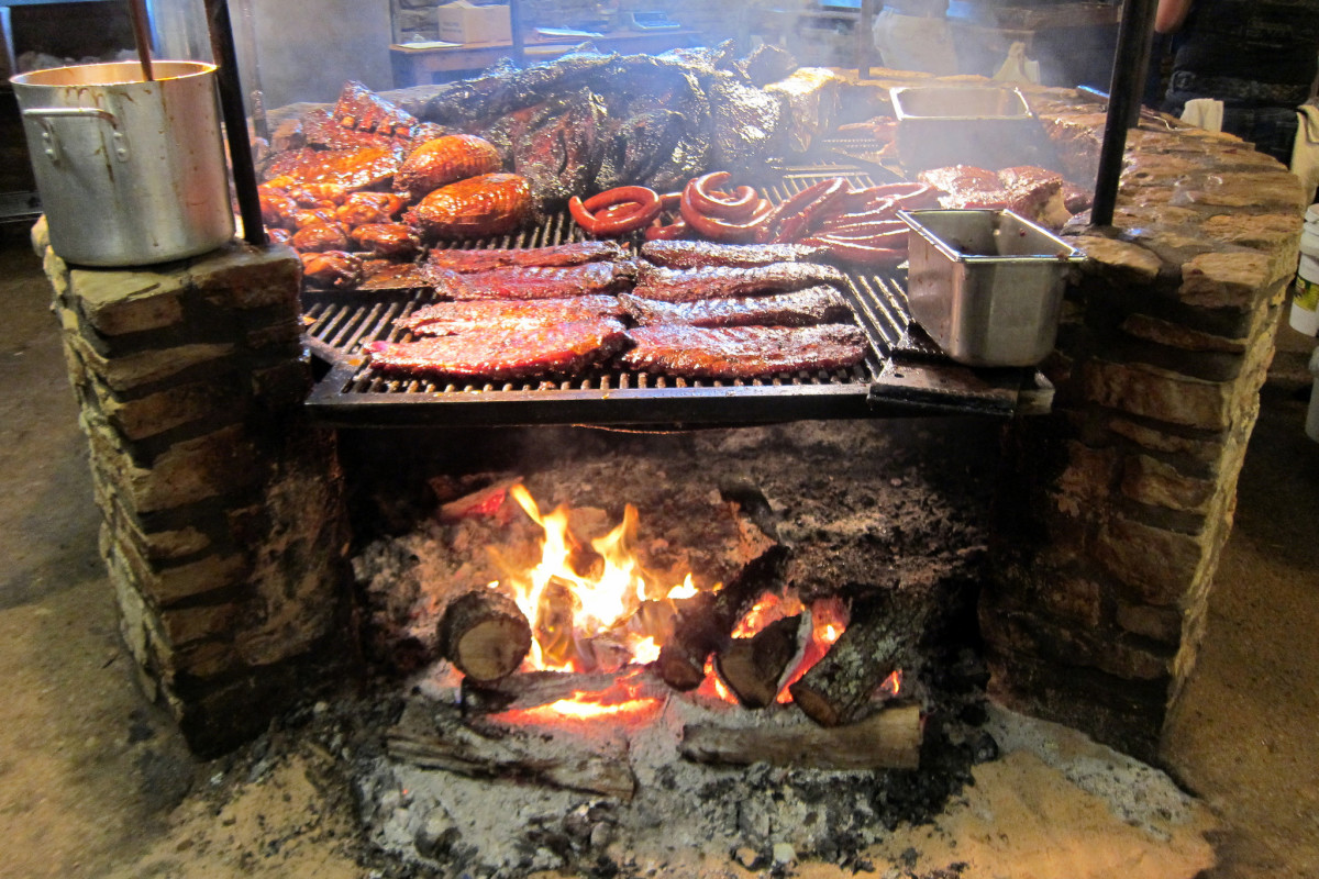 The Salt Lick BBQ in Texas. (Photo: Wally Gobetz/Flickr)