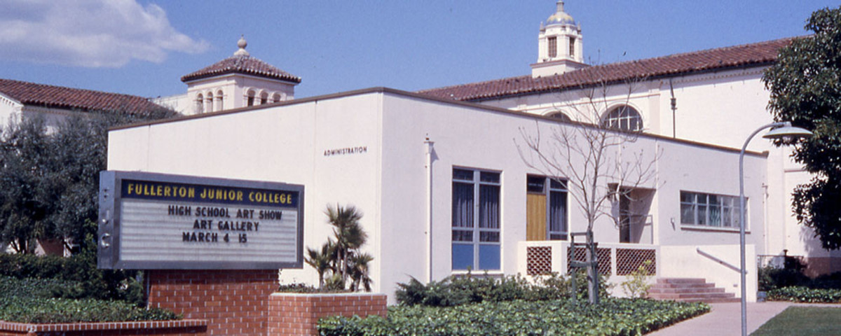 Fullerton College is the oldest community college in  continuous operation in California, having been established in 1913. (Photo: Robert J. Boser/Wikimedia Commons)