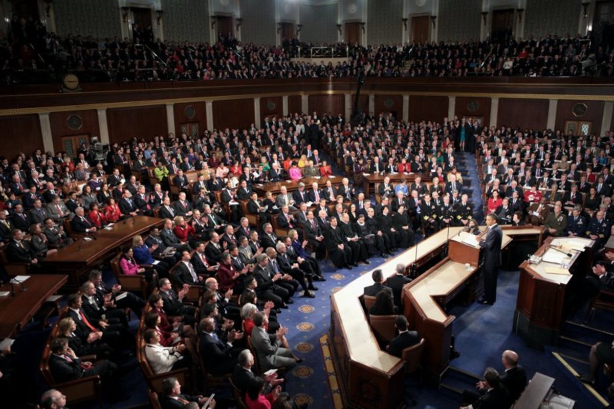The 2011 State of the Union Address given by President Barack Obama. (Photo: Chuck Kennedy/Wikimedia Commons)