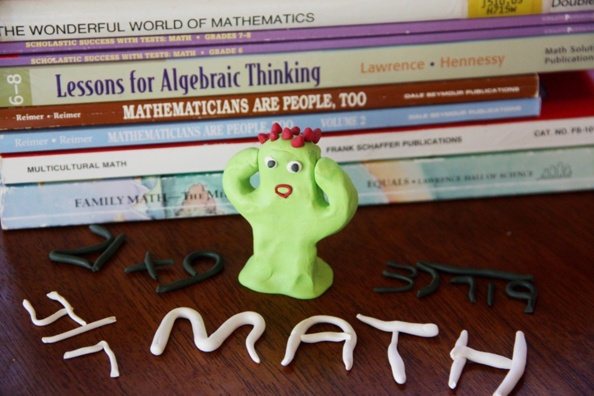 This clay figure really hates math. (Photo: Jimmie/Flickr)