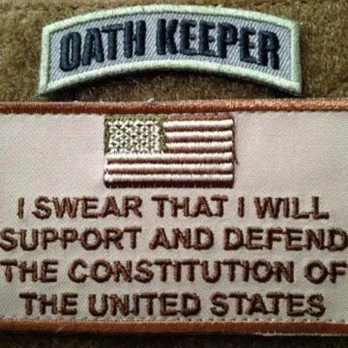 Oath Keepers patch. (Photo: Facebook)