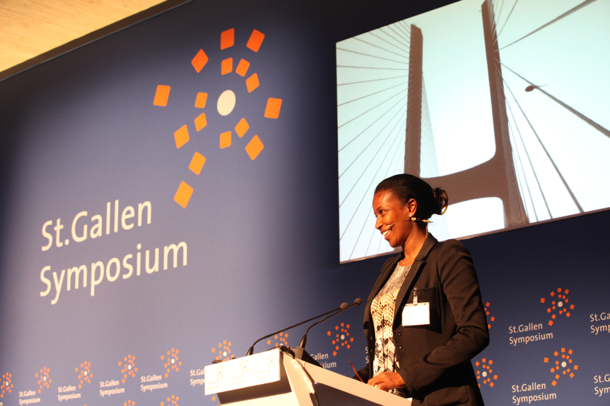 Ayaan Hirsi Ali in May 2011 at the University of St. Gallen. (Photo: Denniss/Wikimedia Commons)