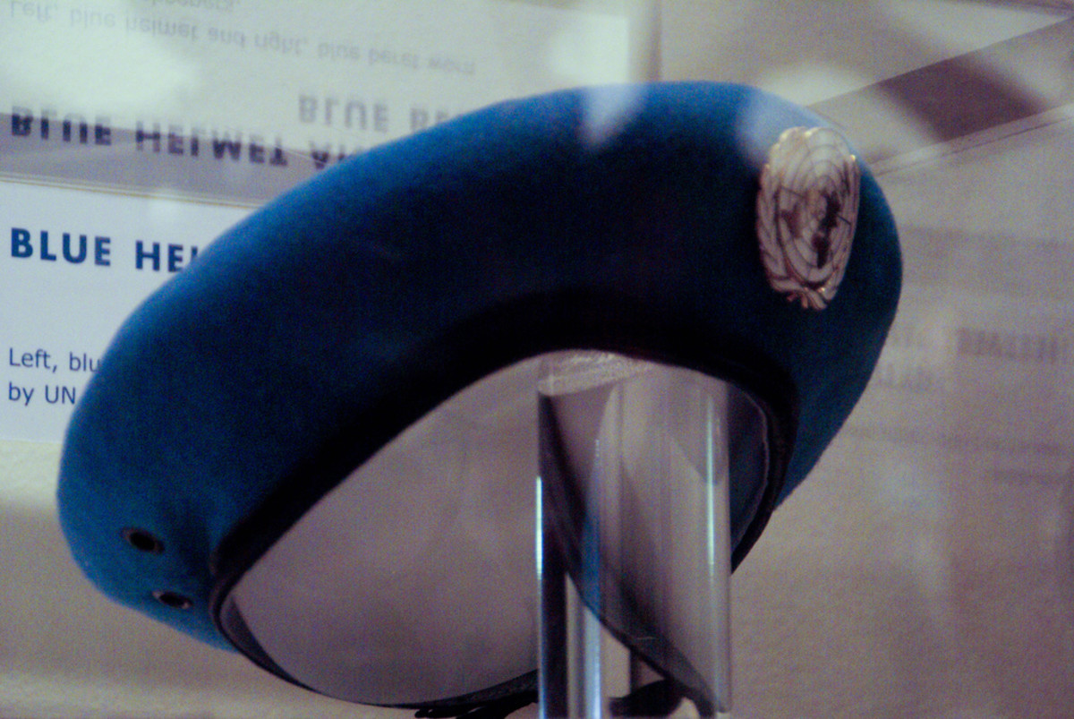 United Nations blue beret. (Photo: Zack Lee/Flickr)