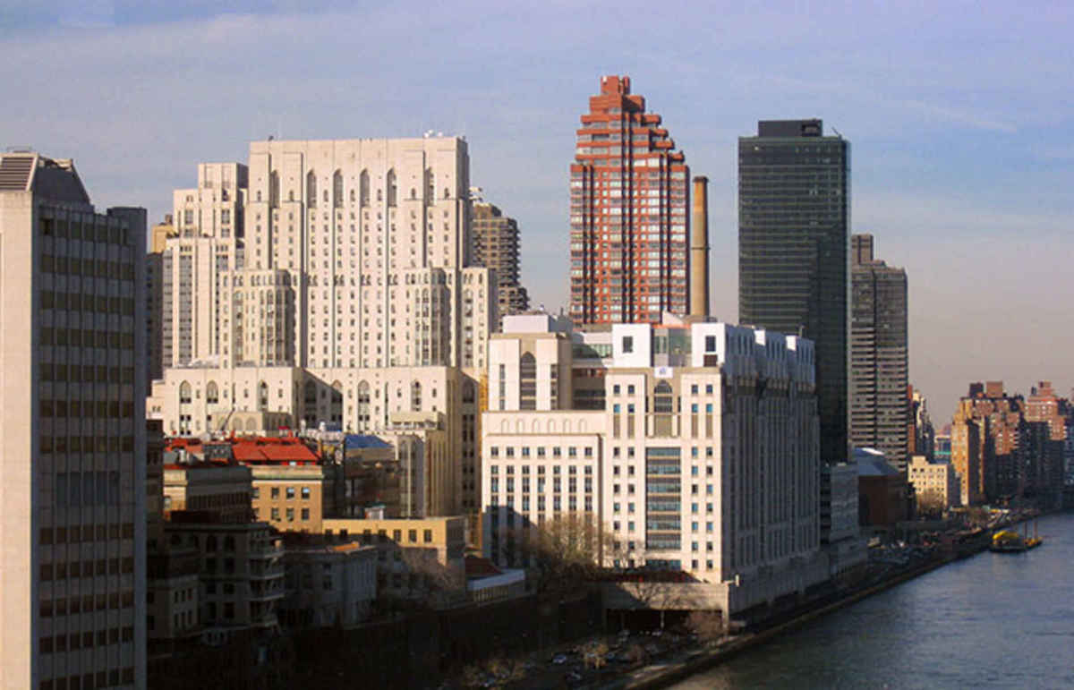 The Weill Cornell campus of NewYork-Presbyterian Hospital. (Photo: Julia Sorenson/Wikimedia Commons)