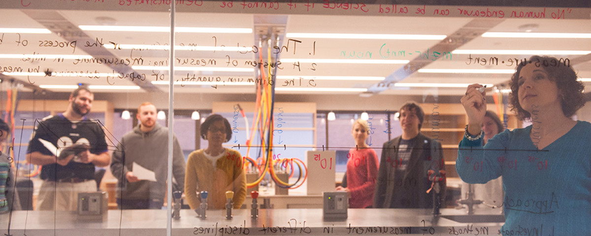 One of the active science learning laboratories at the University of Maryland–Baltimore County. (Photo: University of Maryland–Baltimore County)