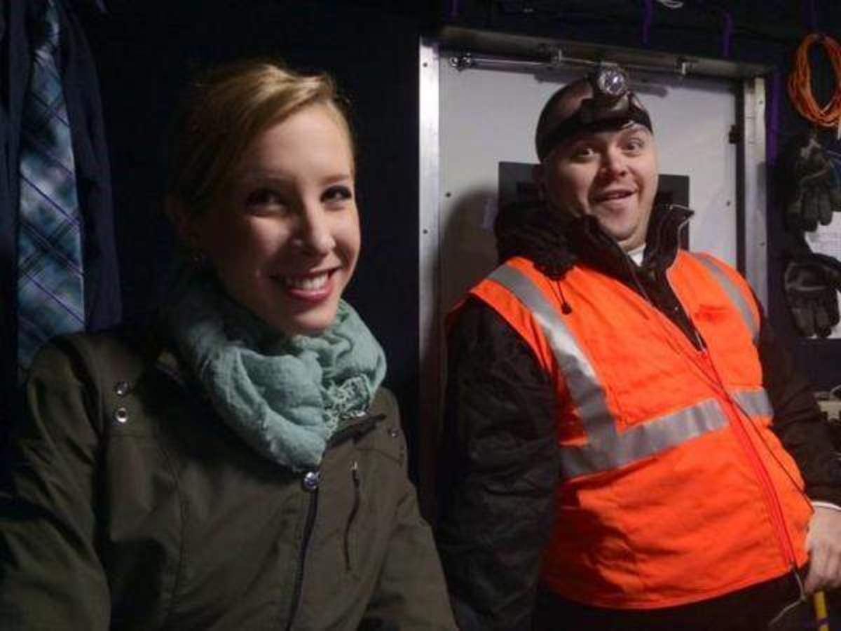 Reporter Allison Parker, left, and photographer Adam Ward. (Photo: WDBJ)