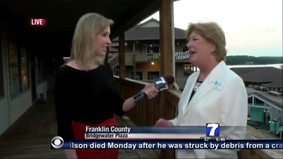 Reporter Alison Parker, left, was killed in Wednesday's shooting. (Photo: WDBJ)
