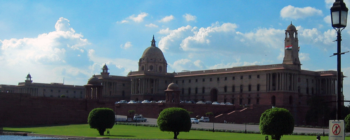 The north block of the Secretariat Building, which administers the government of India, houses key offices. (Photo: Indianhilbilly/Wikimedia Commons)