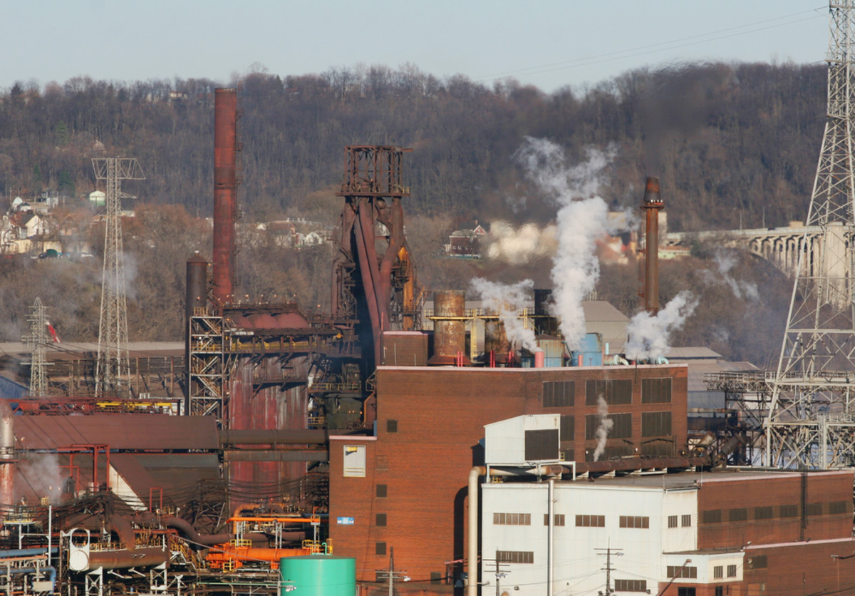 Blast furnaces. (Photo: Wade H. Massie/Shutterstock)