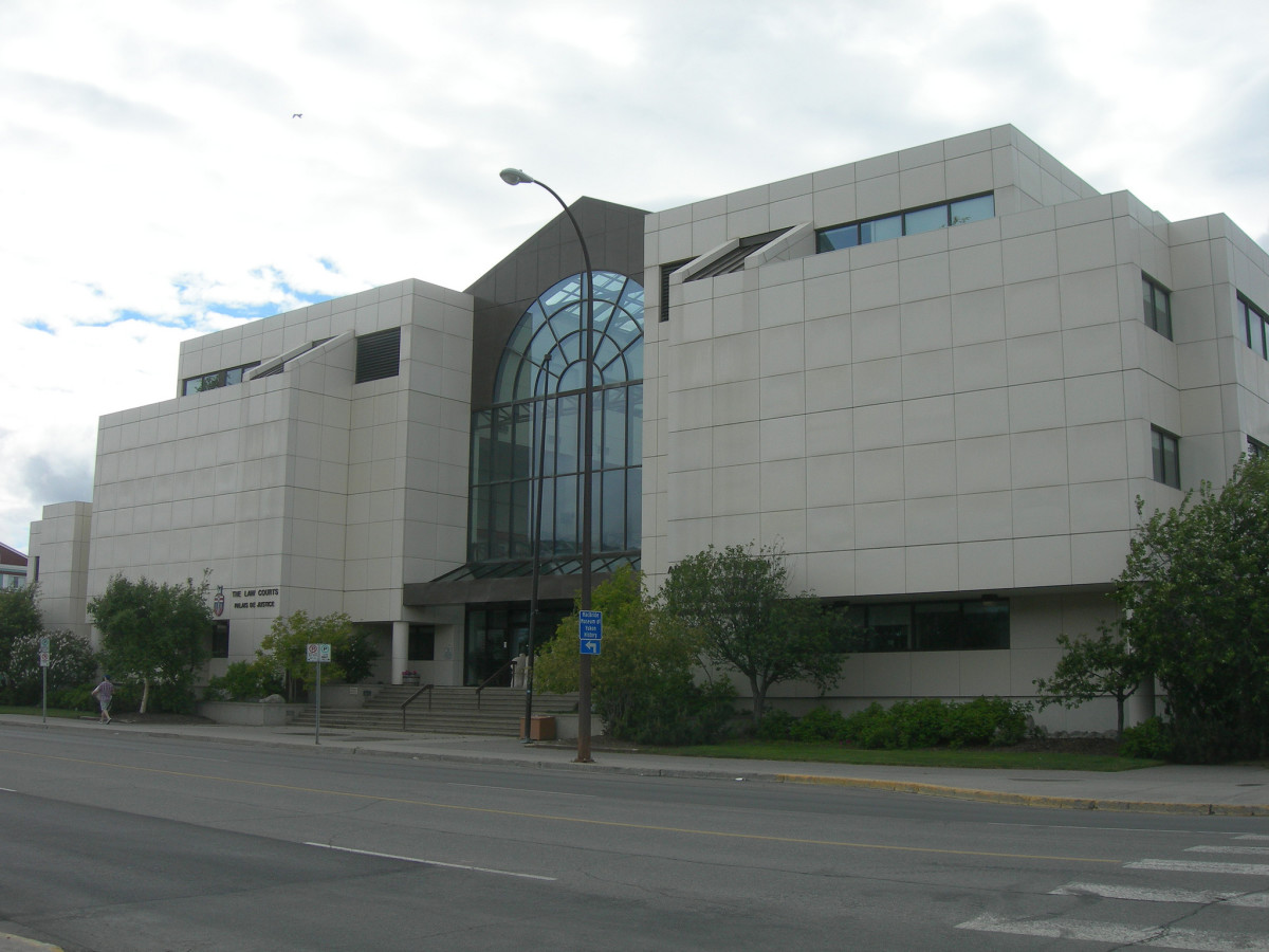 The law courts in Whitehorse. (Photo: auvet/Flickr)