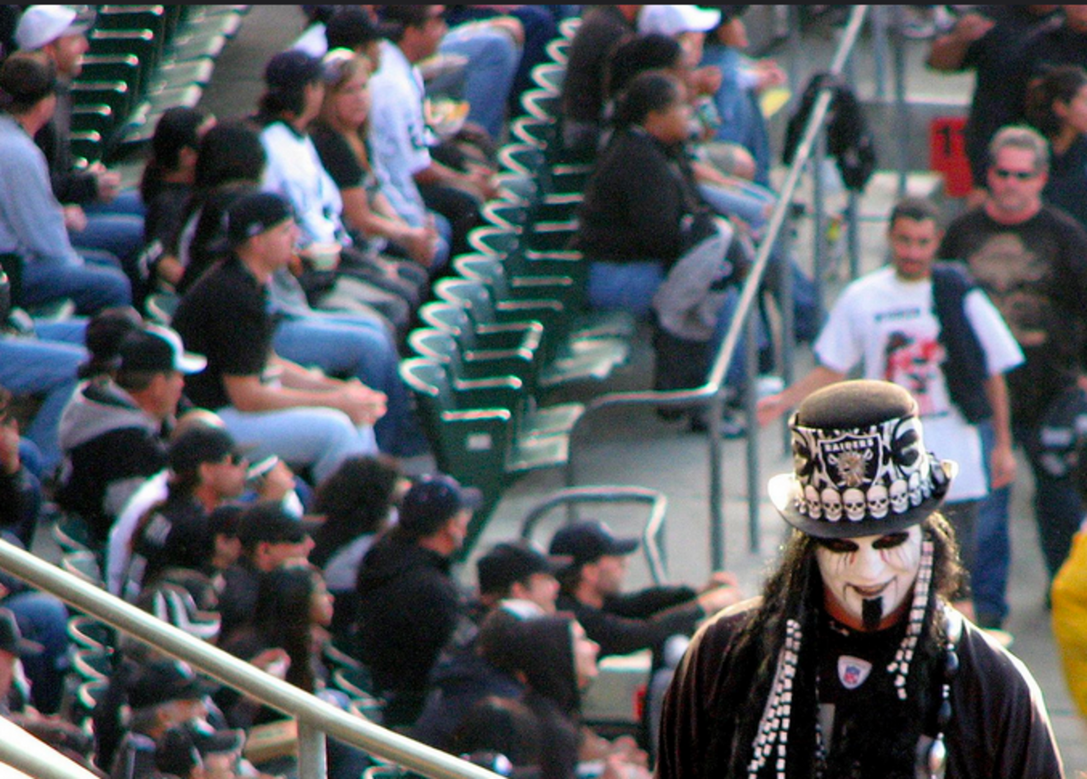 God love you, Raiders fans. (Photo: sgrace/Flickr)