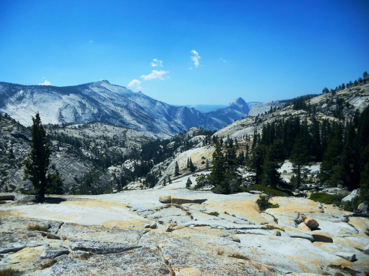 The Sierra Nevada in the Yosemite Valley. (Photo: François B. Lanoë)