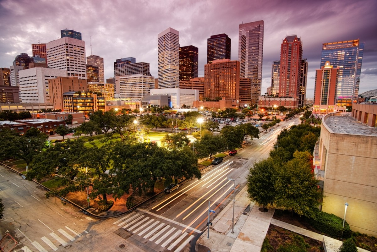Houston, Texas. (Photo: Silvio Ligutti/Shutterstock)