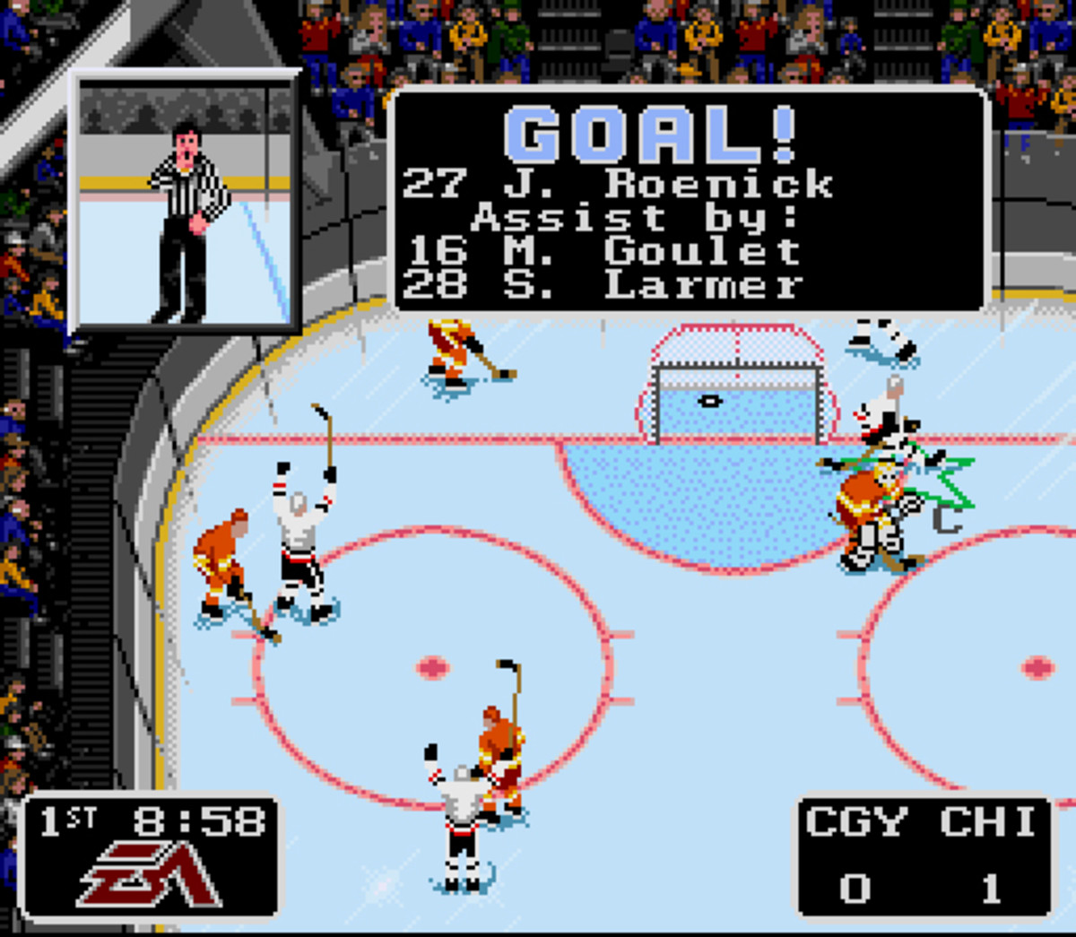 Still for NHL '94. (Photo: EA Sports)