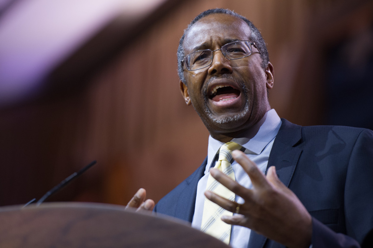 Ben Carson speaks at the Conservative Political Action Conference. (Photo: Christopher Halloran/Shutterstock)