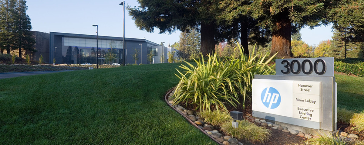 Hewlett-Packard  headquarters in Palo Alto, California. (Photo: LPS.1/Wikimedia Commons)