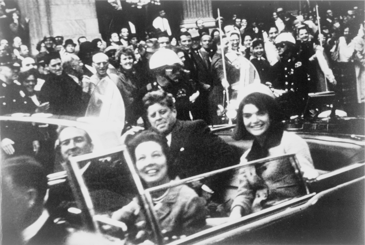 Conspiracy theories persist around the assassination of John F. Kennedy. (Photo: Victor Hugo King/Wikimedia Commons)