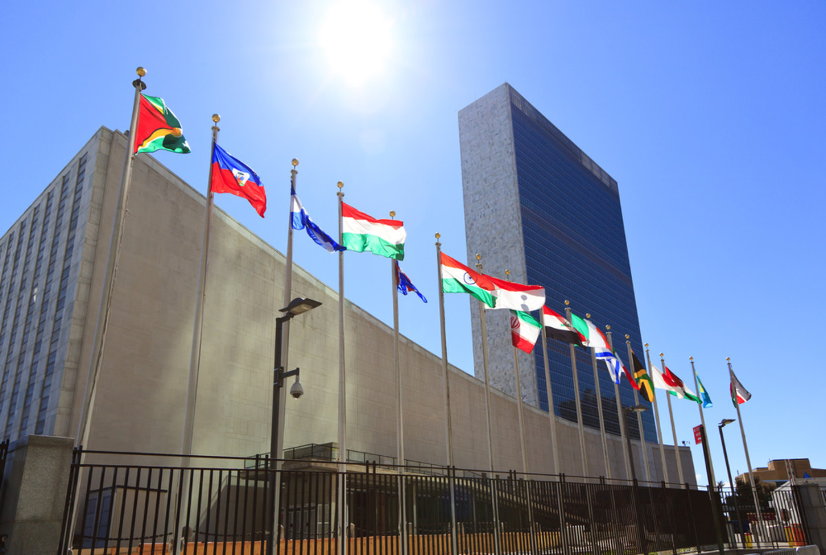 United Nations headquarters in New York City. (Photo: Osugi/Shutterstock)