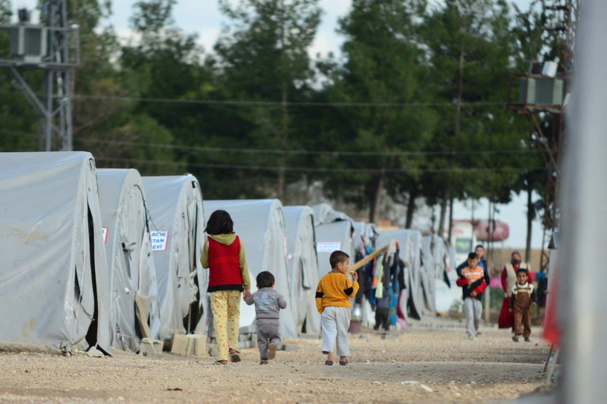 Syrian refugees in Suruc, Turkey. (Photo: Procyk Radek/Shutterstock)