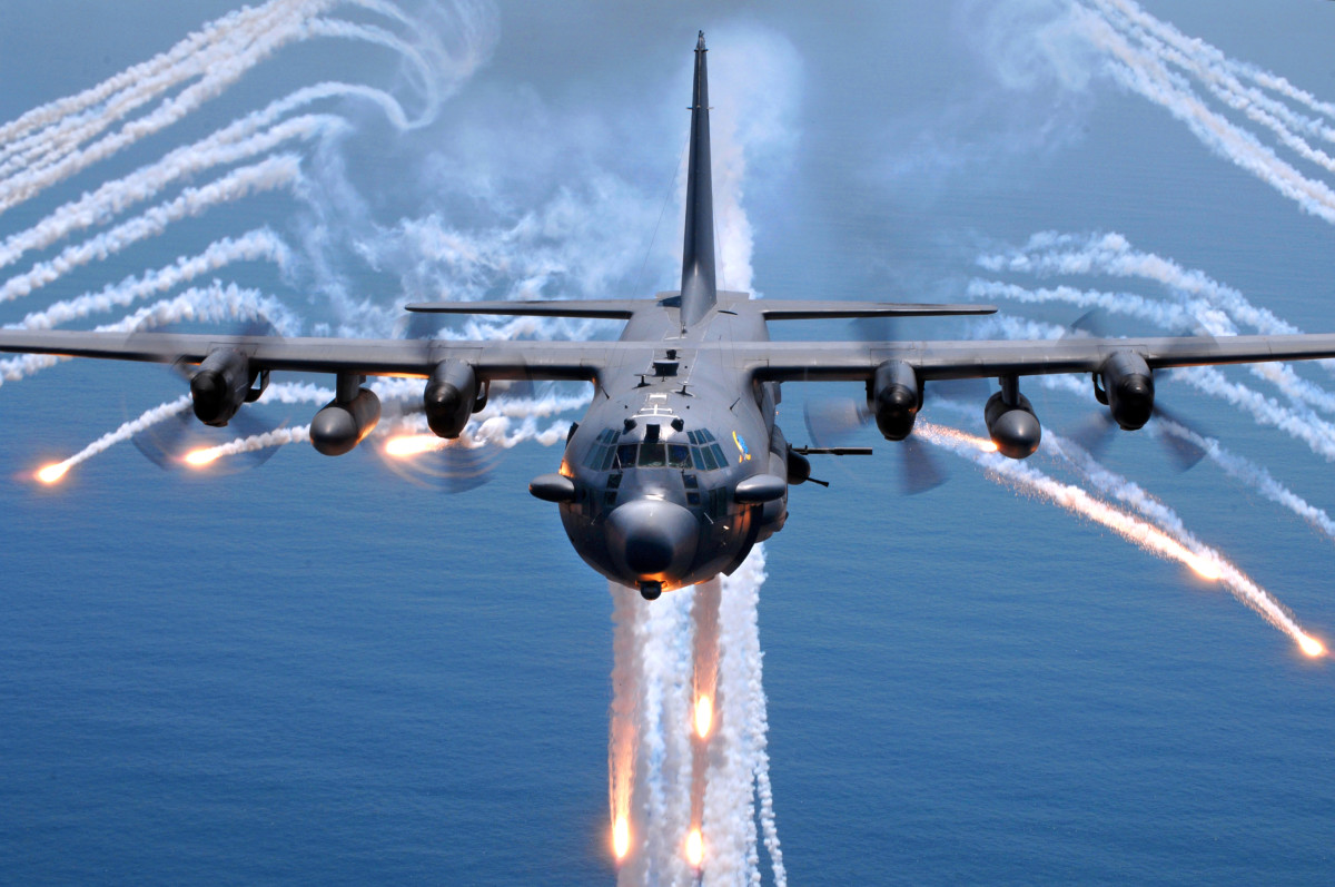 An AC-130H gunship. (Photo: Wikimedia Commons)