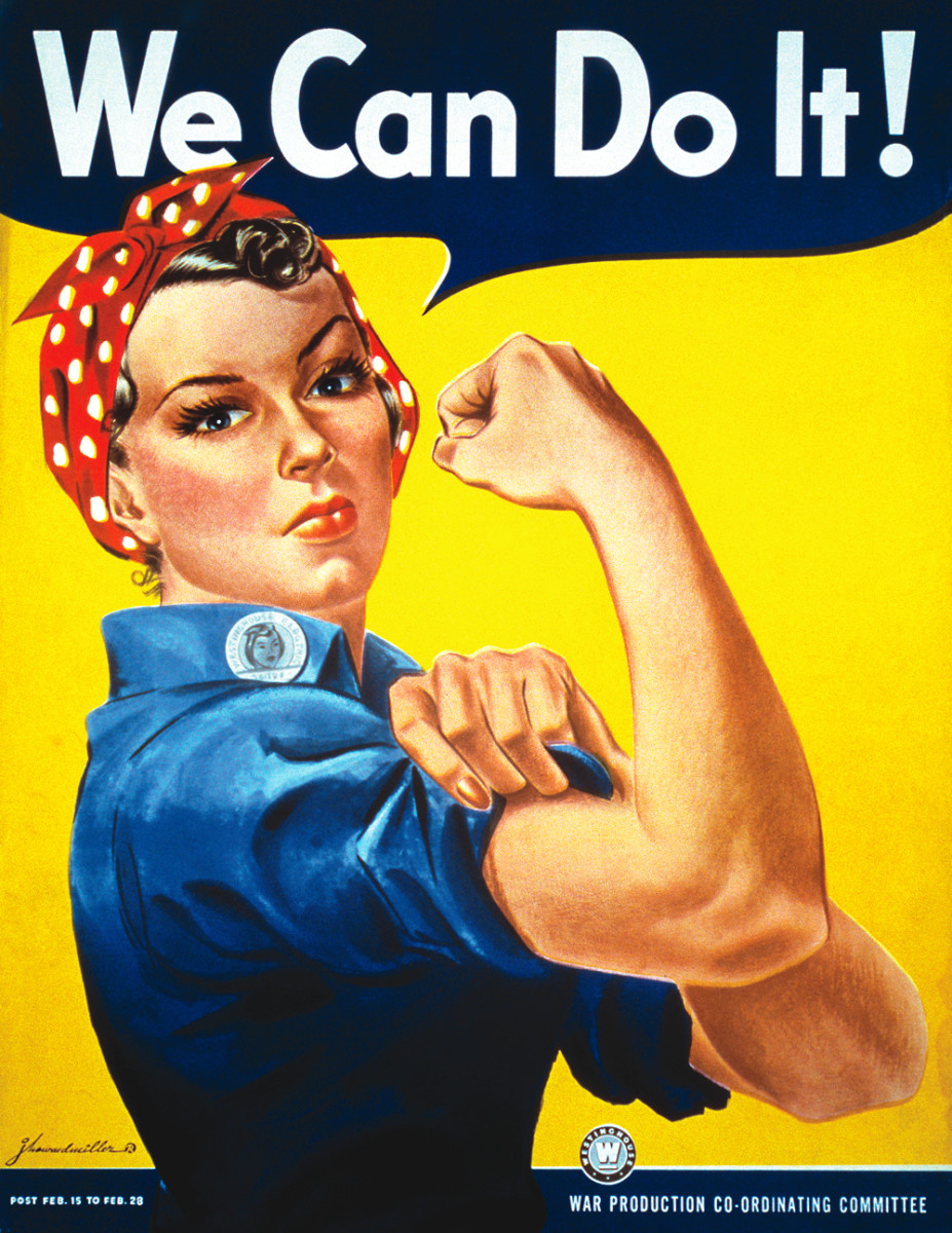 Rosie the Riveter. (Photo: Wikimedia Commons)