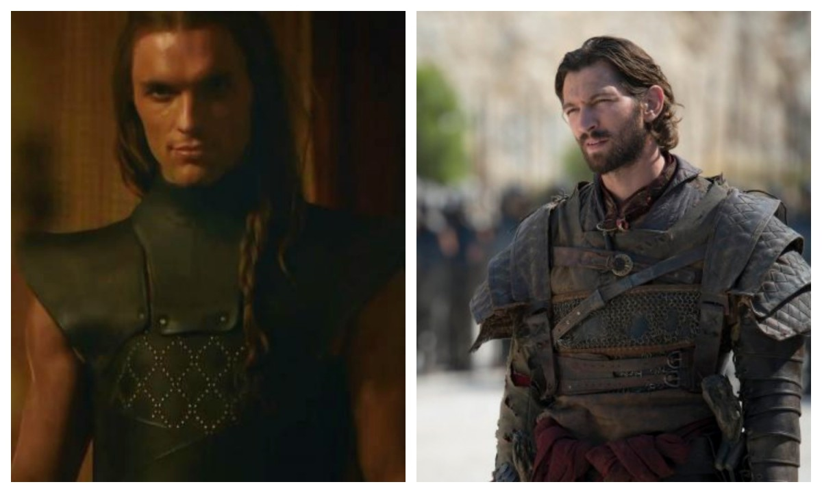 Ed Skrein and Michael Huisman as Game of Thrones' Daario Naharis. (Photo: HBO)