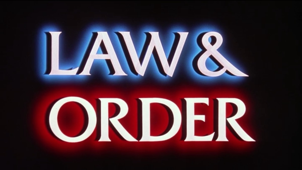 The Law & Order logo. (Photo: Wikimedia Commons)