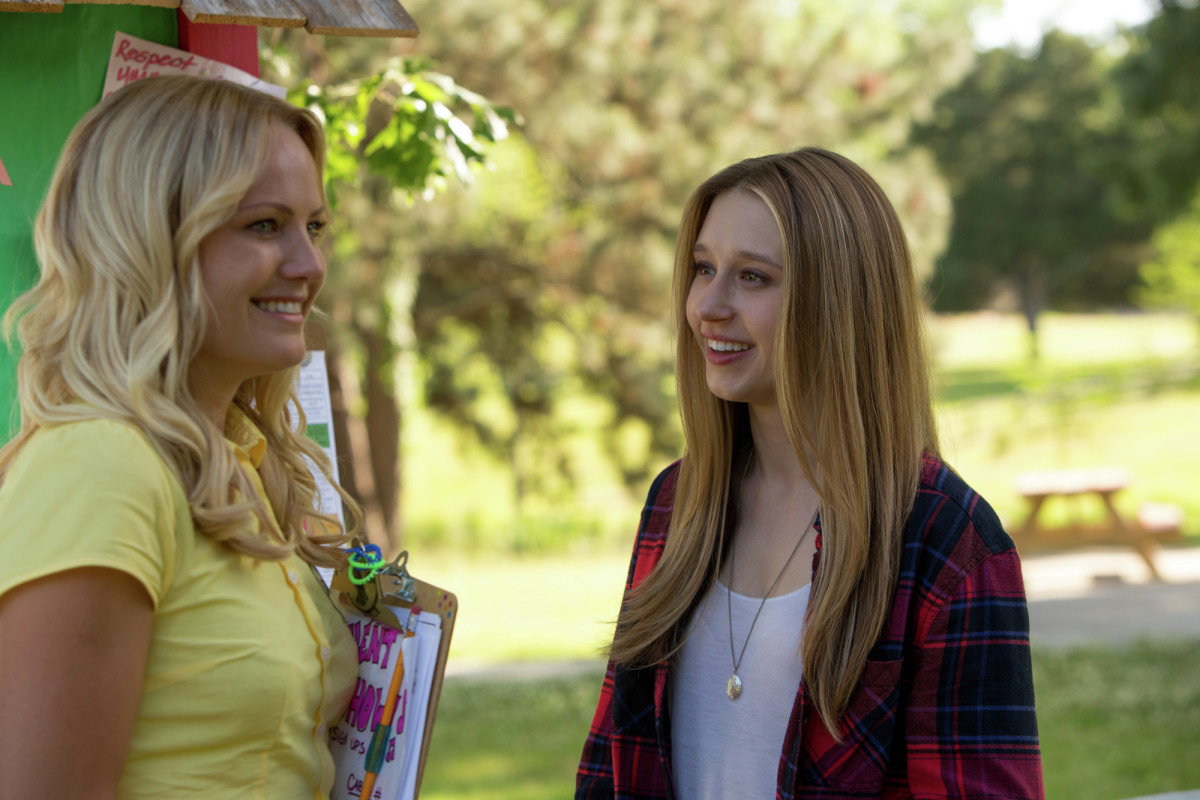 In the Final Girls, a daughter reunites with her mother by entering one of the movies she acted in. (Photo: Stage 6 Films)