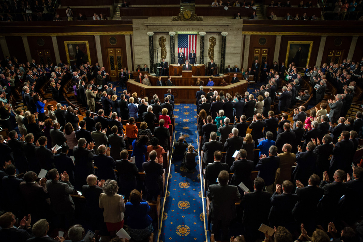 A joint  session of the Senate and House of Representatives in Washington, D.C. (Photo: Drop of Light/Shutterstock)