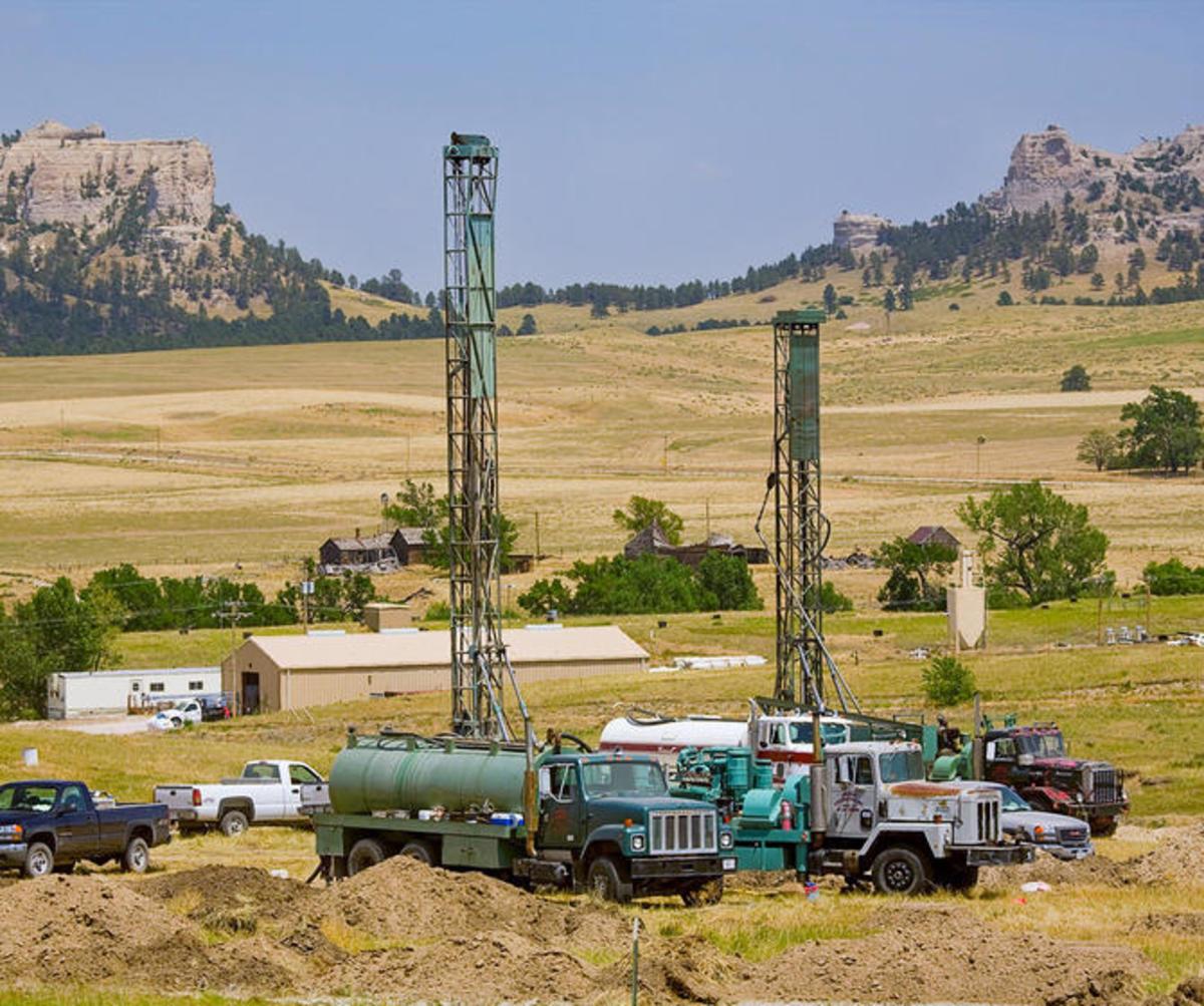In situ recovery mining in Crow Butte, Nebraska. (Photo: NCR/Flickr)