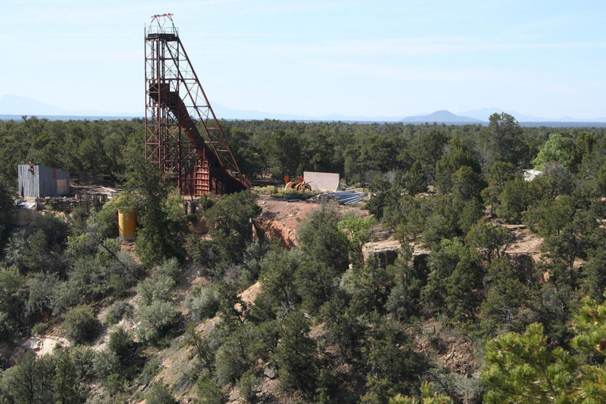 Orphan Mine, a former uranium mine on the South Rim of the Grand Canyon. (Photo: Alan Levine/Flickr)
