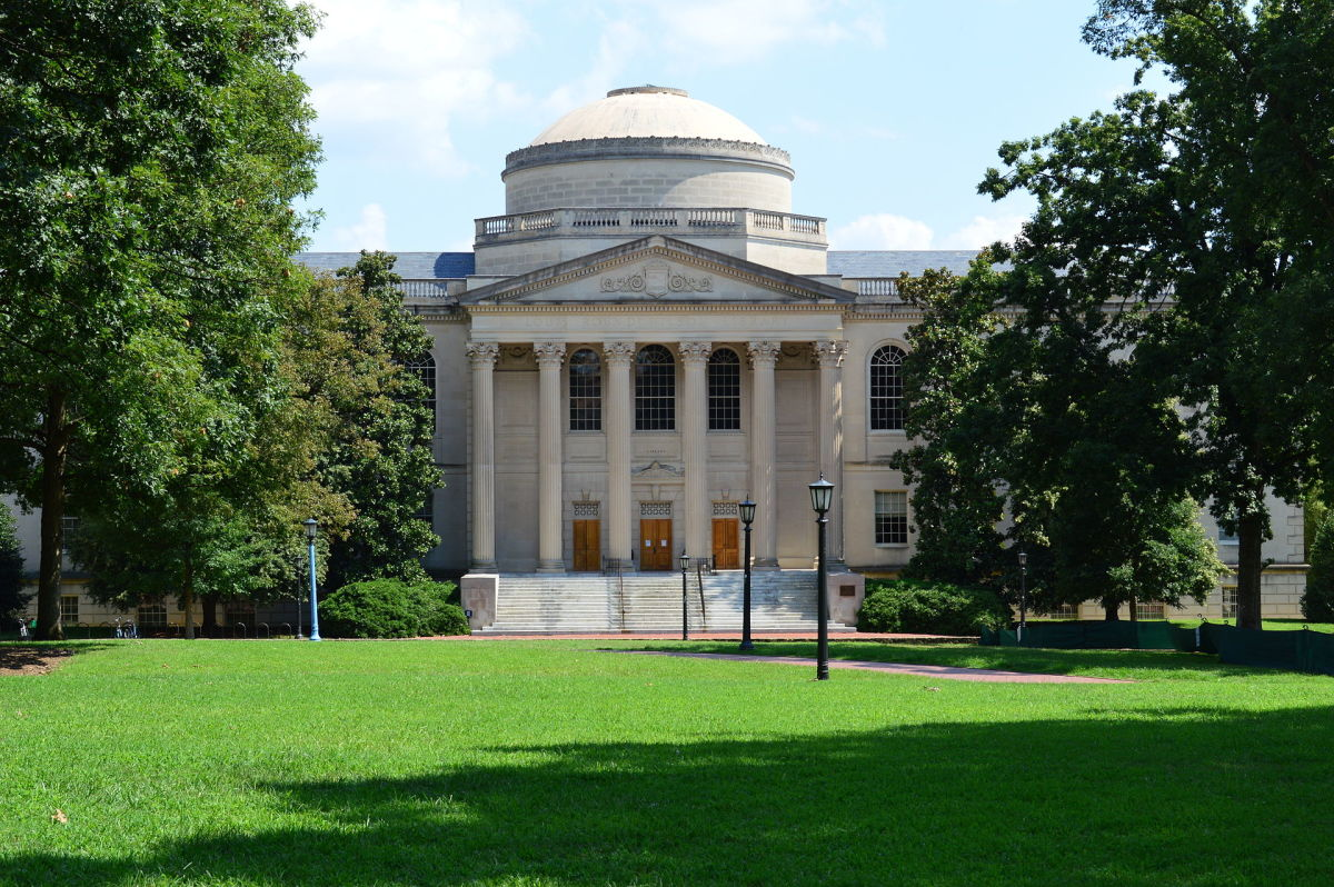 The Louis Round Wilson Library at the University of North Carolina–Chapel Hill. (Photo: Yeungb/Wikimedia Commons)