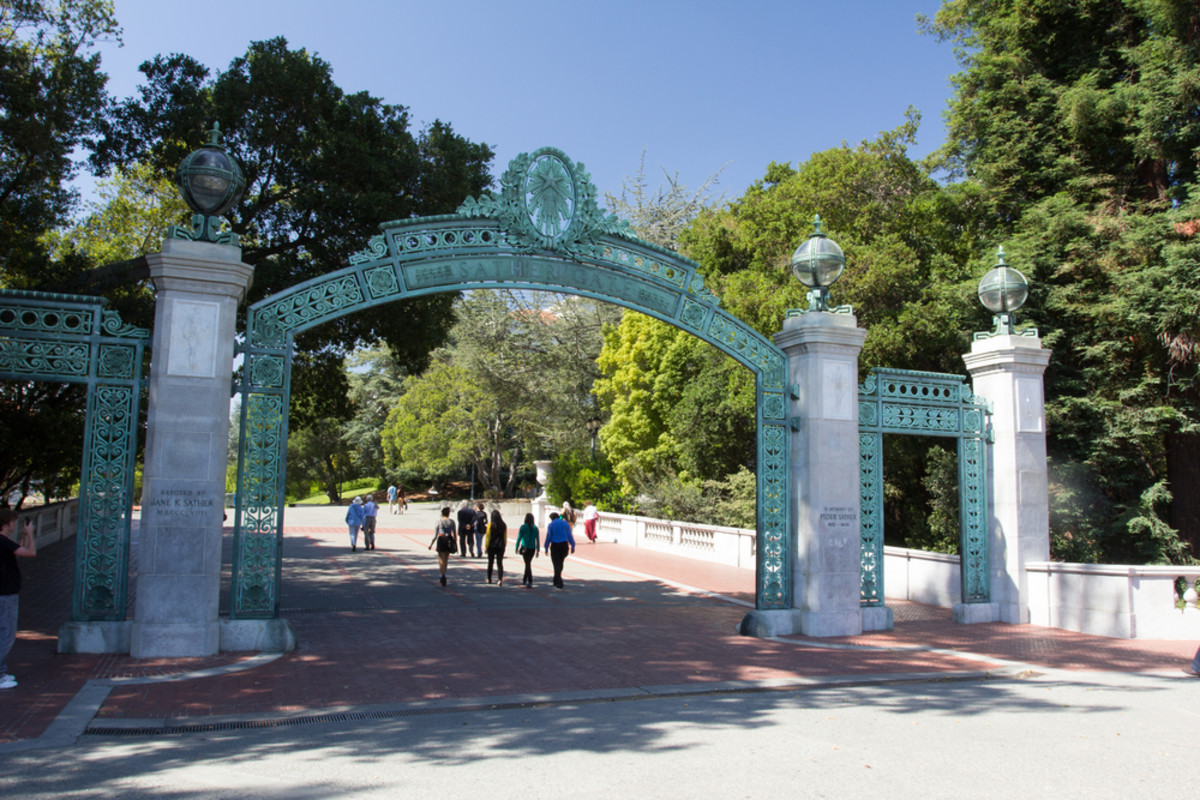 Sather Gate, located on the University of California–Berkeley campus. (Photo: Ken Wolter/Shutterstock)