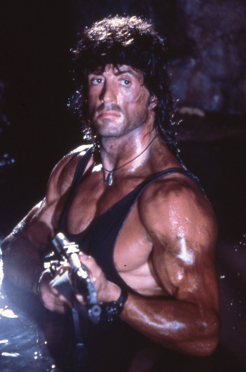 Sylvester Stallone in Rambo III. (Photo: Yoni S. Hamenahem/Wikimedia Commons)