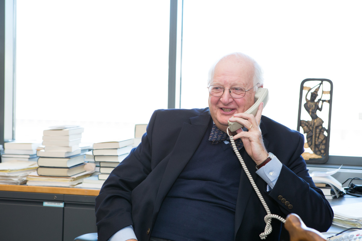 Dr. Angus Deaton. (Photo: Denise Applewhite/Princeton University)