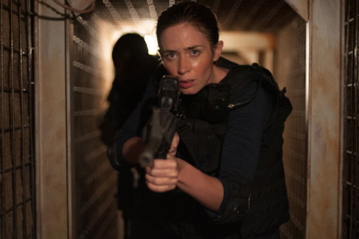 Emily Blunt stars as Kate Macer in Sicario. (Photo: Lionsgate)