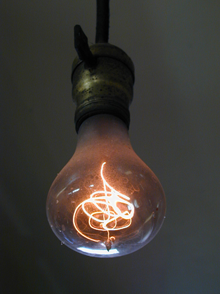 Livermore, California's Centennial Light Bulb. (Photo: Public Domain)