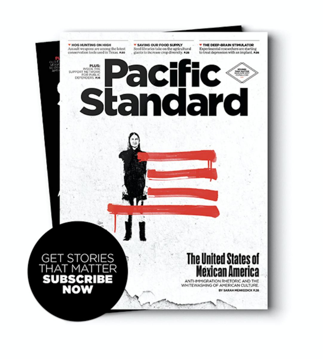 Esta historia aparece en inglés en la edición de marzo / abril 2017 de Pacific Standard. Compra una copia de esta edición o suscríbete a la revista ahora.