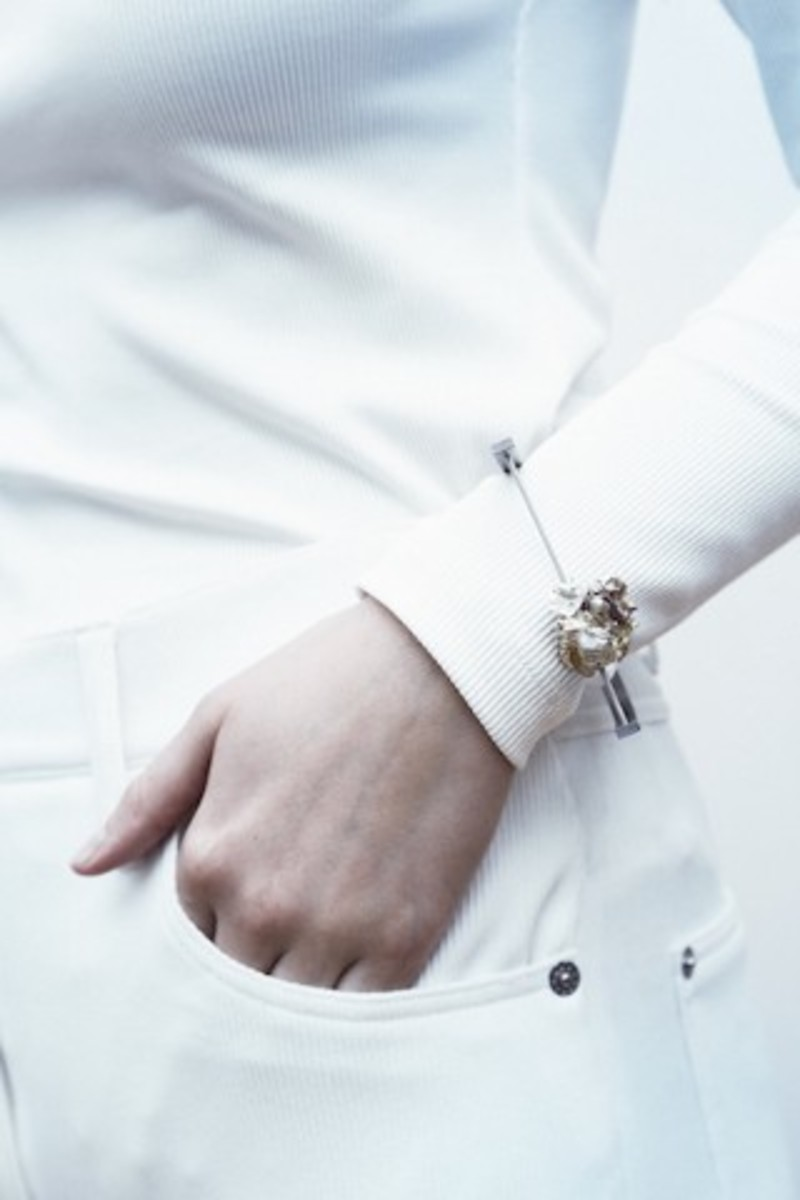 Two rings from Ágústa Sveinsdóttir's Dust line, and a bracelet from Silfra. (Photos: Agusta Sveinsdottir & Eyglo Gisladottir)