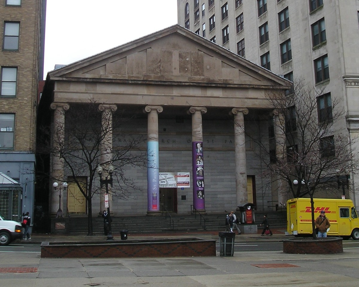The Cathedral Church of St. Paul in Boston, home to The Pilgrim.