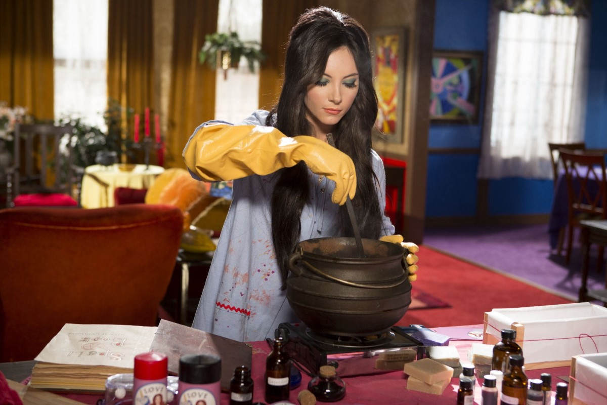 In Anna Biller's new film, Elaine (Samantha Robinson) concocts potions to make men fall in love with her.