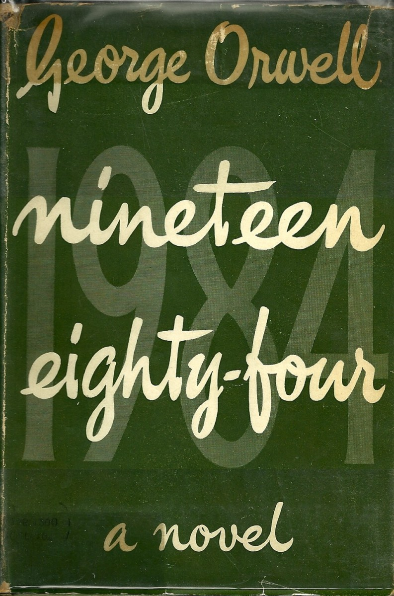 George Orwell's 1984, first edition