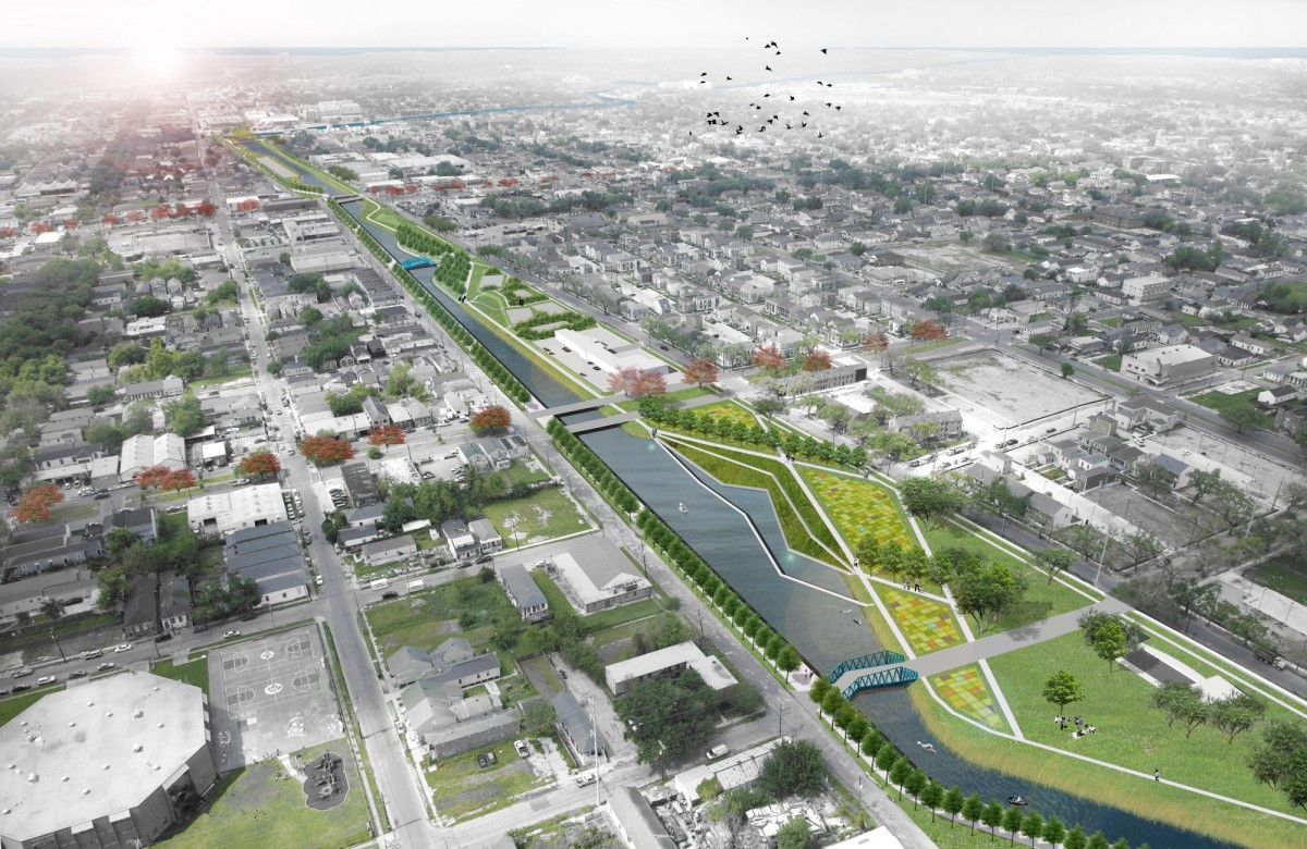 The Lafitte Blueway can re-charge groundwater, provide a new habitat for wildlife within the city, offer recreational opportunities, and restore the historical connection between Bayou St. John and the French Quarter.