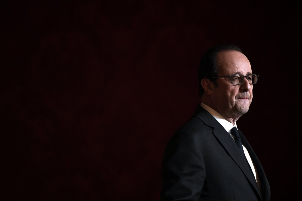 French President François Hollande.