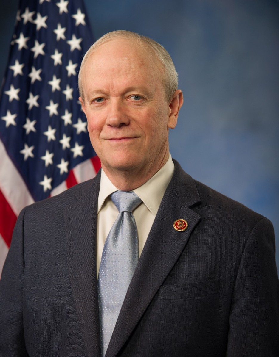 Portrait of Jerry McNerney in front of a U.S. flag