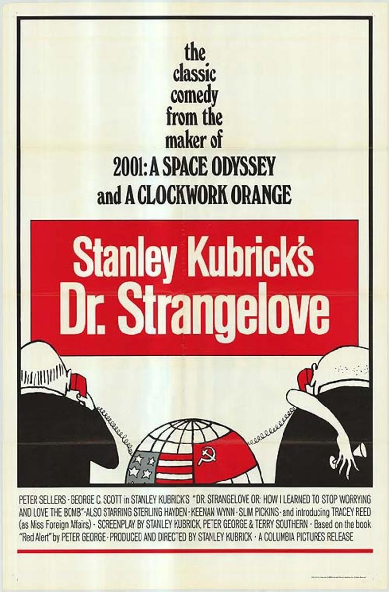 Poster for Dr. Strangelove, 1964.