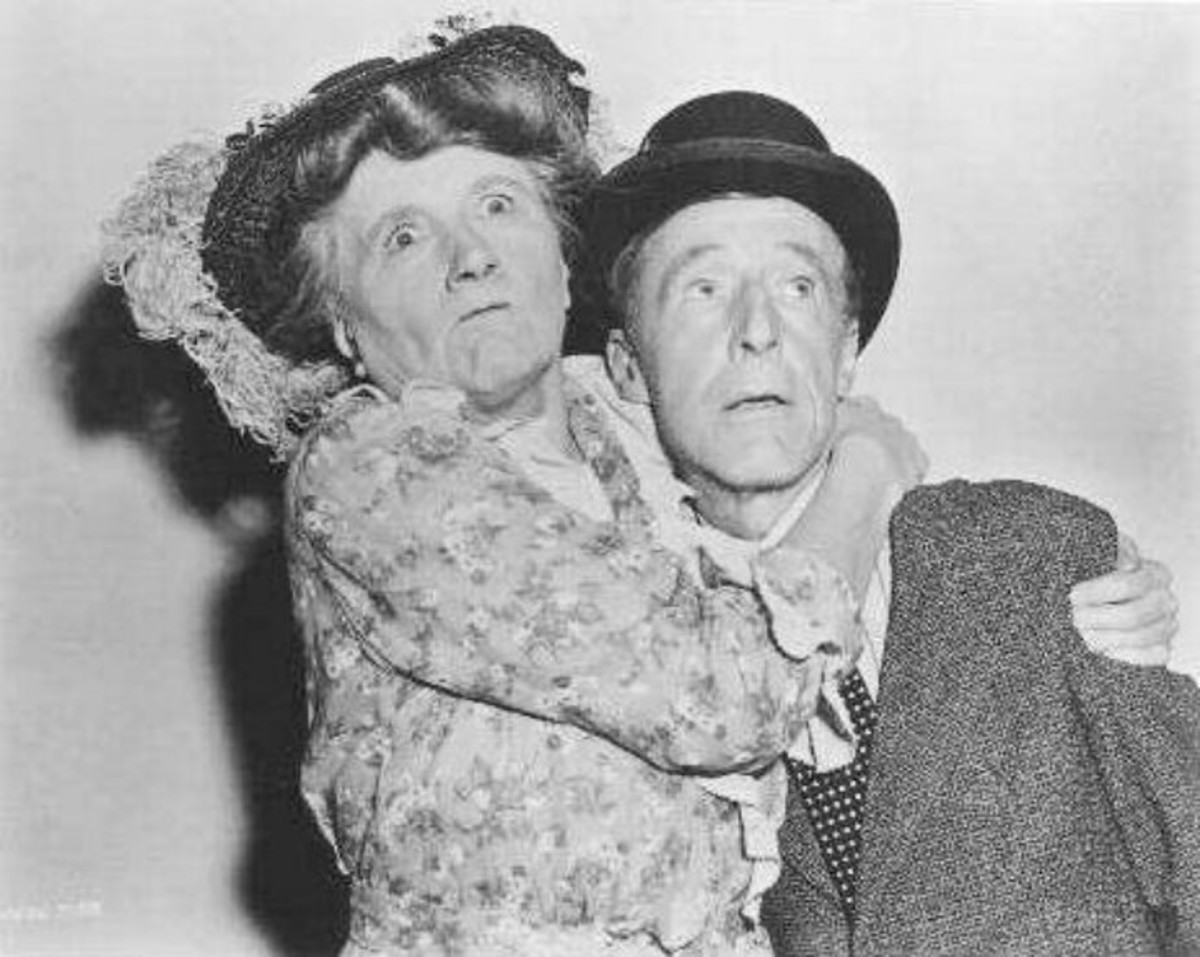 Marjorie Main and Percy Kilbride in Ma and Pa Kettle.