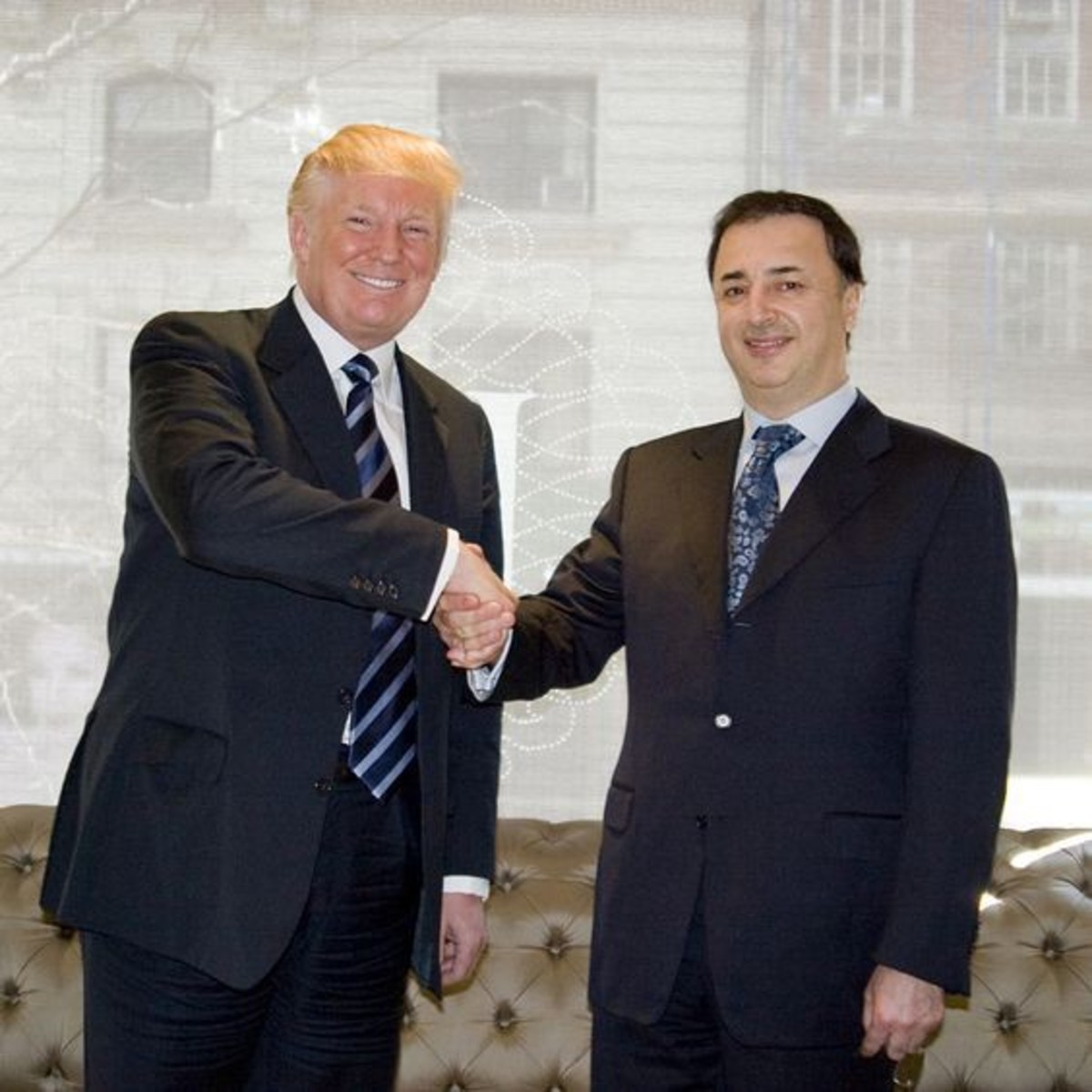 Donald Trump and Lev Leviev.